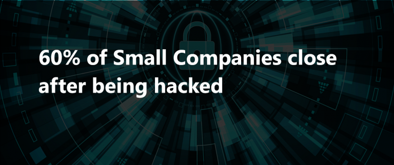 60% of Small Companies close after being hacked