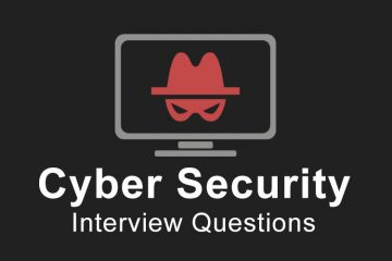 15 Most Asked Cyber Security Fresher Interview Questions for 2020